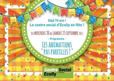 70 ans centre social ecully programme